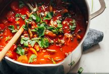 meal prep / soups + stews + chili / soups, stews, chilis / usually can be made in the slow cooker / all meals have at least 20 grams of protein