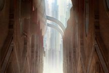 Concept art/ Landscapes