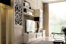 Obývací pokoje v klasice