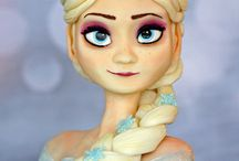 Torták a gyerekeknek / Jégvarázs- Frozen Dino, Bob mester