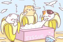 Bananya Cats