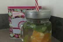 Water detox / Un jour une boisson pour être en bonne santé