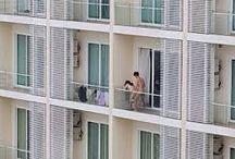 SENSUAL • Couple @ Balcony