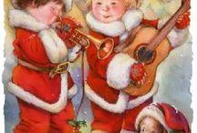 Canti e musica di Natale Vintage