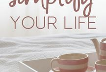 Organization Ideas for Your Home / Tips for getting organized and creating a clutter-free home! Cheap ways to organize your home, and DIY ideas we love. Organizing your home can truly change your life, saving you time and money!