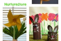 Easter Crafts & Cooking With Kids / Fun Easter craft ideas for kids