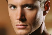 Just Jensen & Supernatural / Handsome hottie Jensen Ackles stars as Dean Winchester, along with Jared Padalecki as his brother Sam in Supernatural.  They are two brothers continuously fighting paranormal evil that lives in the dark corners and on the back roads of America in Supernatural.  / by Suzanne Wolf