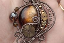 Steampunk Style / Steampunk jewelry - Steampunk world! Inspiration, creations for Victorian curiosities and interesting heirlooms