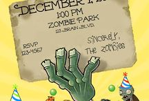 Plants vs Zombie party ideas