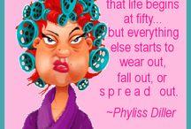 Phyllis Diller / by Sherri Dubay