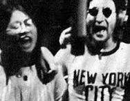 John Winston Lennon and May Pang