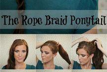 Belles Coiffure / Pour coiffer les cheveu et pour être belle dans des occasion spécial.