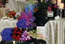 Houston Bridal Extravaganza Show 2015 / Aztec Events & Tents provided the linens for H-E-B FLORAL