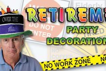 Retirement Party Ideas / Someone retiring? Celebrate there career achievements and give them the retirement party they deserve. Here are some products and examples of retirement parties