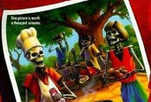Goosebumps / A nod to the classic horror series for kids by R.L. Stine