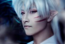 inuyasha: sesshomaru / ( 10th of October ) — You're truly stupid, aren't you? You know, you could just hide and run away. For you, the image of that wouldn't be disgraceful. Because, after all, your living soul in itself is already the pinnacle of disgrace.