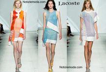 Lacoste / Lacoste collezione e catalogo primavera estate e autunno inverno abiti abbigliamento accessori scarpe borse sfilata donna.