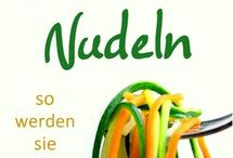 Gemüsen Nudeln