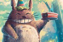 Aniversário Totoro <3
