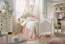 camere da letto shabby