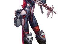 Cyberpunk/Steampunk/Sci-fi