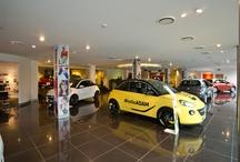The UK's first Vauxhall ADAM Centre / http://www.arnoldclark.com/vauxhall/adam-centre/