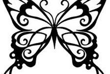 Risco borboleta