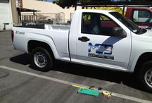 Vehicle Lettering / Vehicle lettering on various cars, trucks, boats, etc.
