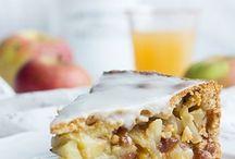 gedeckter Apfelkuche