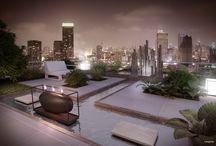 Inspiration Métropolitaine / Des lignes, des matériaux et des végétaux qui magnifient la ville et le lieu de vie.