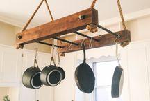 pot rack kjøkken