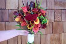 Fall bouquets / Fall bridal bouquets by Cleveland Florist