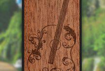 Calisto Phone Cases / Custom design wood phone cases