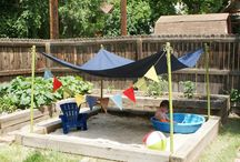 kid friendly backyard