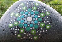 Decorated Rocks & Stones