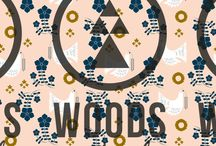 Prints by Suzanne Janssen / Woods and Pulp is a webshop for Prints, Patterns and Graphics for commercial ore personal projects. We sell the finest handcrafted designs!