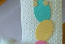 Easter cards and craft ideas / by Sylvia Ruthven