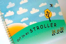Out in My Stroller a storybook app for kids 2-4