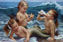 Mermaids & their kin / by Susan O'Halloran