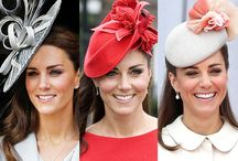 Royal Millinery / A collection of hats worn by the royal family.