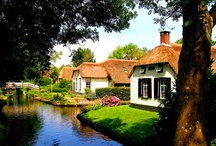 Holland / Boats and canals are a way of life in Holland, and boating on Dutch waterways lets you see the real Holland.  The Friesland region in northern Holland glistens with hundreds of lakes, great for water sports.