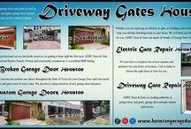 Driveway Gates Houston