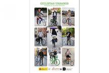 """CicloPublicaciones /     Esta selección de fotografías que forma parte del proyecto Ciclistas Urbanos,  """"…se acerca al pequeño universo, en expansión, de la bicicleta como medio de transporte urbano y como vehículo saludable, sostenible y cívico"""". Y quiere hacer también reivindicación de su uso como auténtico vehículo alternativo. #CiclistasUrbanos #CENEAM"""