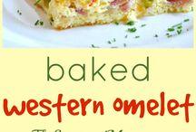 Breakfasting / Omelette