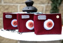 2beclick / Italian Handmade camera bag  made with Love :*