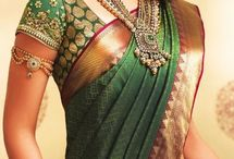 Green saree Marathi
