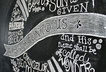 chalk. / by Jamie Zintgraff
