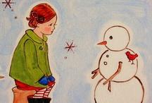 Snowmen / by Barbara Smith