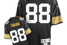 Steelers Lynn Swann Black Authentic Jersey For Women's & Youth & Men's All Size