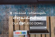8 ręcznie robionych dywanów od sukhi.pl